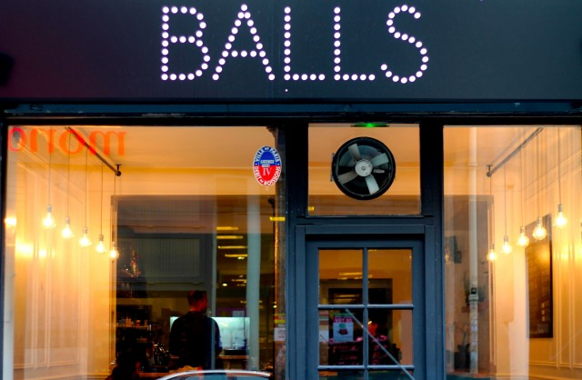 Wanna eat some Balls ?