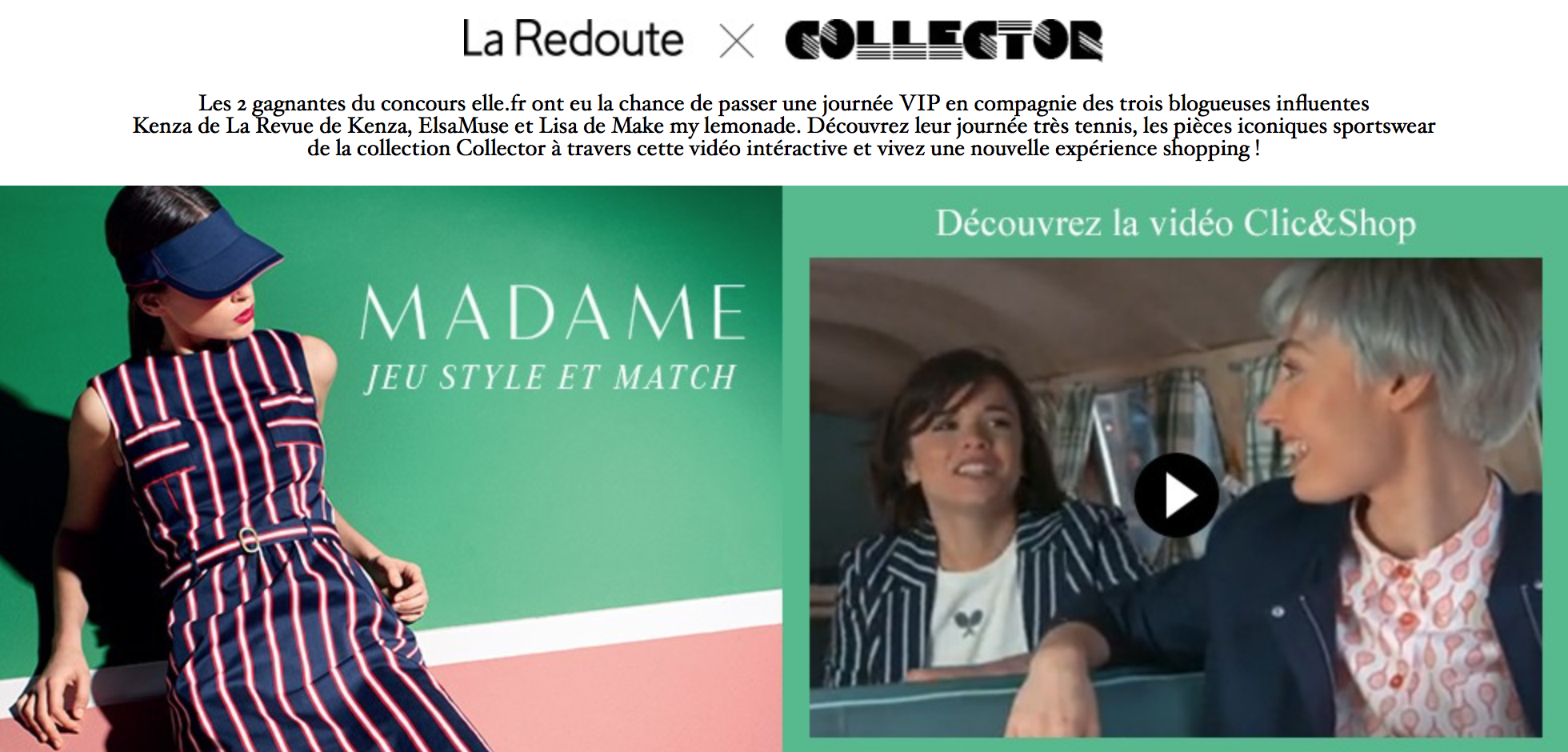 La Redoute x Collector