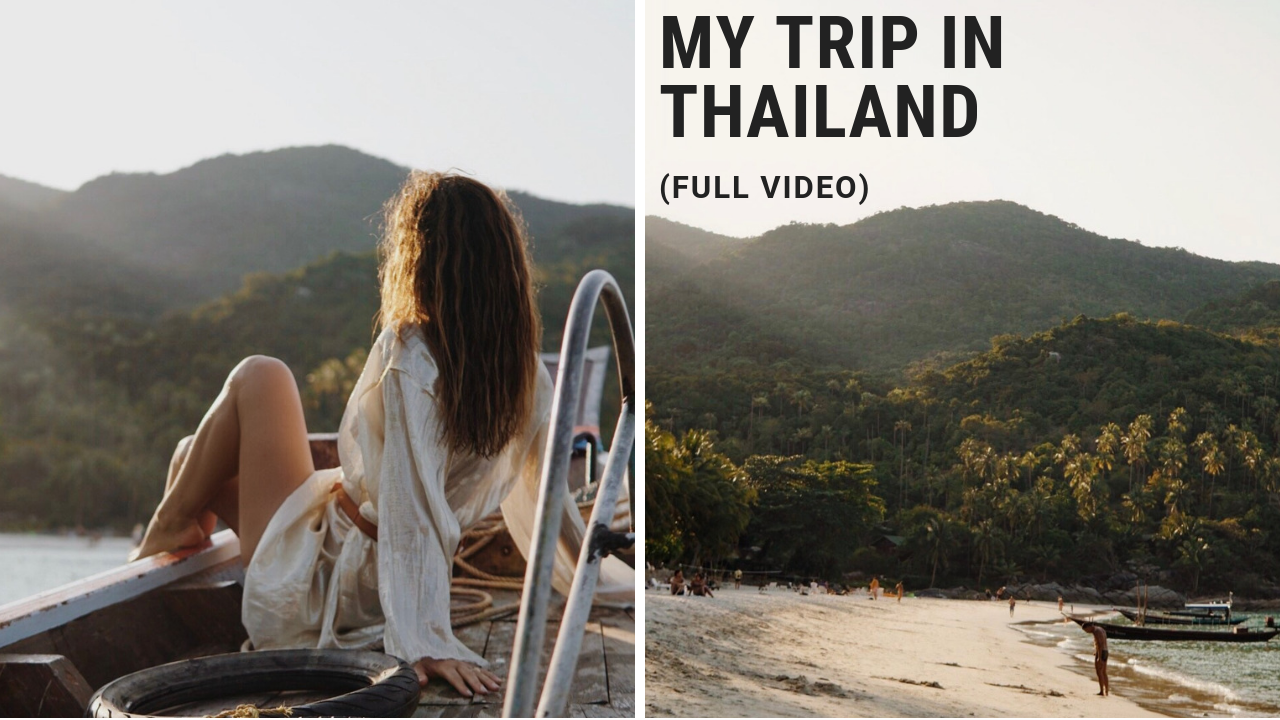 My trip in Thailand (full video)